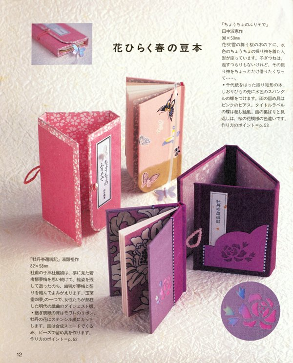 How To Make A Book Yourself : Miniature books you can make yourself blue roof designs
