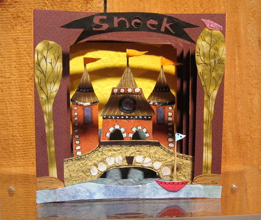 "Handmade book ""Sneek"" by Marcia Vogler"