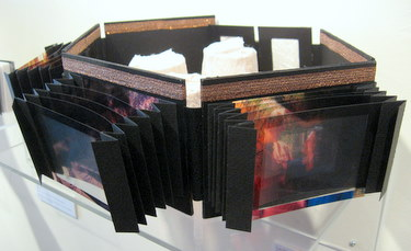 "Handmade book by  Jill Abilock - ""Love Illuminated Series - Eye of the Beholder"""