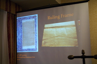 Islamic binding - presentation slide of ruling frame