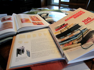 Researching folded books