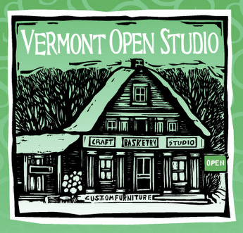 21st Vermont Open Studio Weekend logo