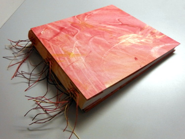 Tacket bound book