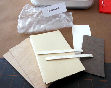 Materials kit for Scaleboard binding