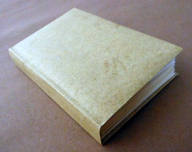 Non-adhesive paper case binding