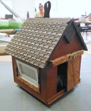 Handmade house by Randi Parkhurst