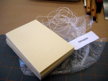 Materials kit for Ethiopian binding