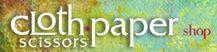 Cloth Paper Scissors logo