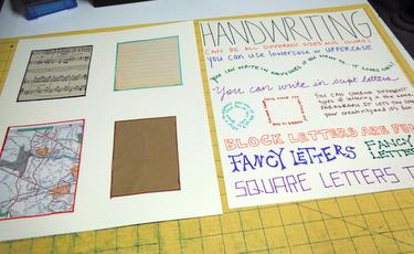 Art journaling posters
