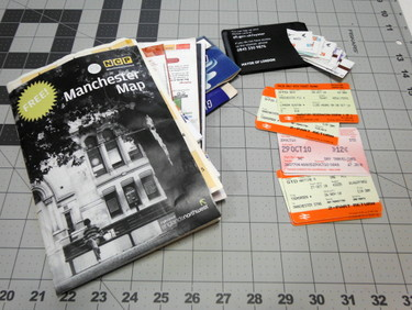 Travel ephemera