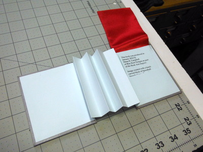 Flag book structure without flags
