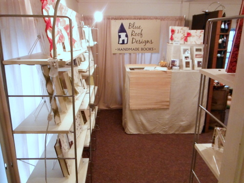 Blue Roof Designs craft show booth
