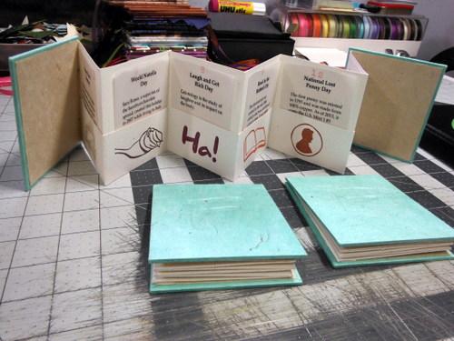 Handmade books by Elissa Campbell