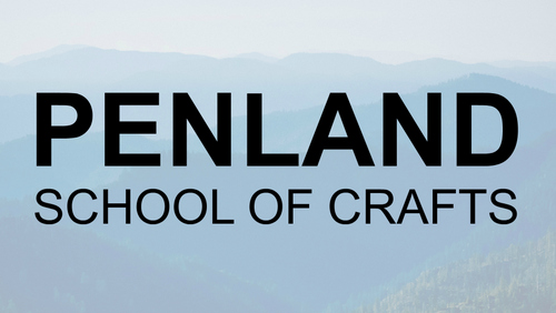 Trees with Penland School of Crafts text