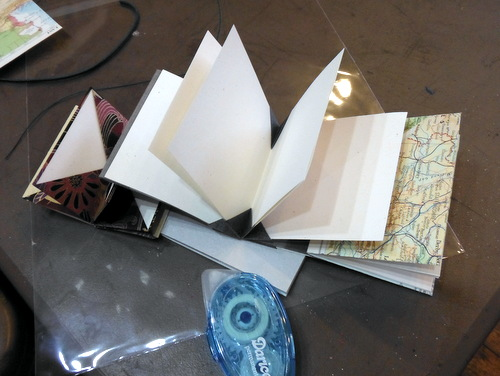Handmade origami books