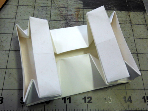 Chinese sewing box - assembly in progress