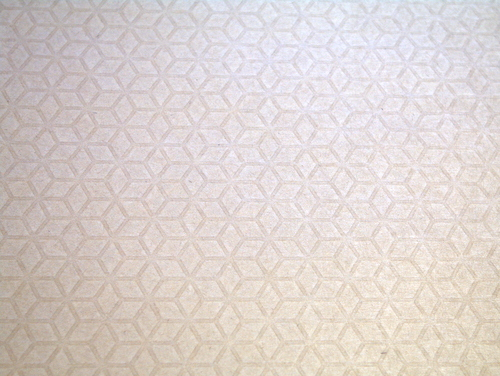 Embossed patterned kraft paper