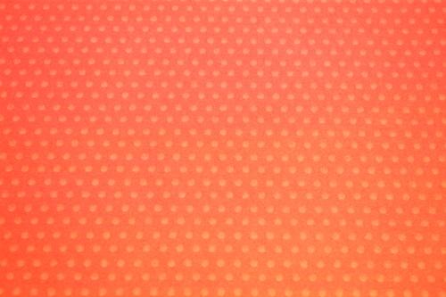 Orange dotted washi