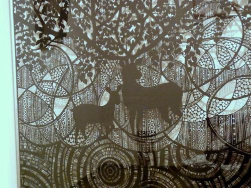 Cut paper art by Atsumi Yukihiro