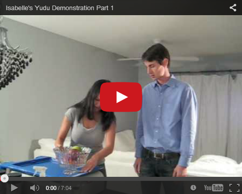 Screenshot of Yudu Demonstration video