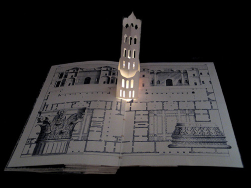 Five Luminous Towers, A Book to be Read in the Dark