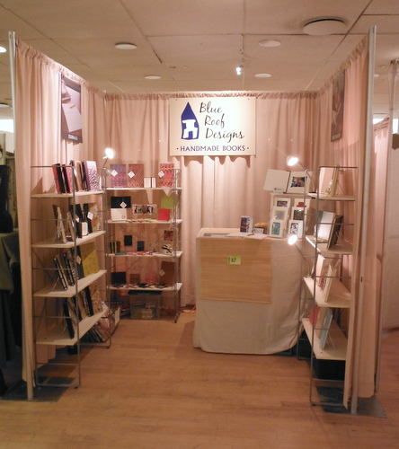 Blue Roof Designs booth at Women's Festival of Crafts 2016