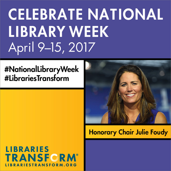 2017 National Library Week logo