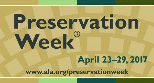 2017 Preservation Week logo