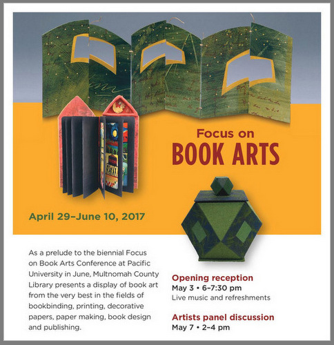 2017 Focus on Book Arts Faculty-Staff Exhibit