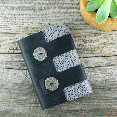 Handmade leather journal by Elissa Campbell